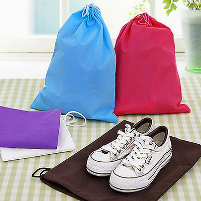 Shoe Bag Pouch Dust Cover Protector Travel Sports Sport Dance Shoes Bags Light