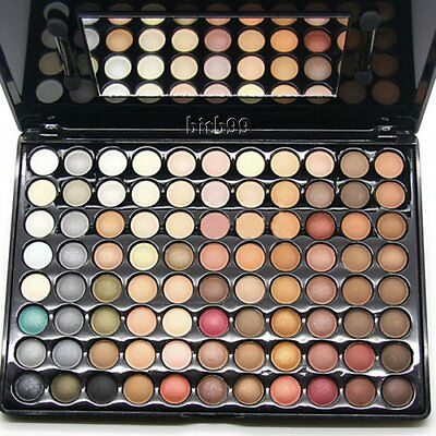 New 88 Color Matte Shimmer Warm Professional Eyeshadow Eye Makeup Palette AU2