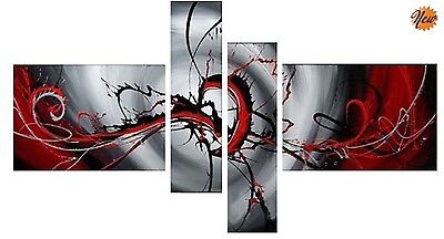 Modern Painting On Canvas Abstract Art Framed Contemporary Wall Decor Bedroom