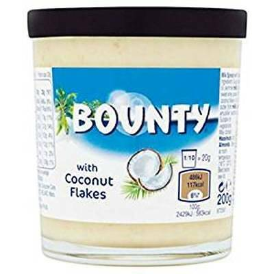 Bounty Chocolate Spread With Coconut Flakes 200G
