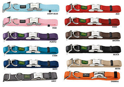 Hunter Extra Small Dog Collars - With Alu-Strong Clip - All Colours  Free P&P