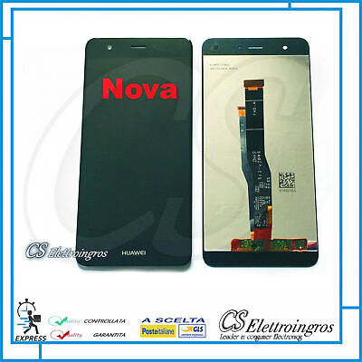 Display LCD + TOUCH SCREEN NERO ORIGINALE HUAWEI NOVA