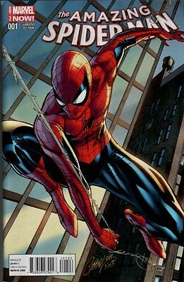 Amazing Spider-Man 1 J Scott Campbell Connecting Variant