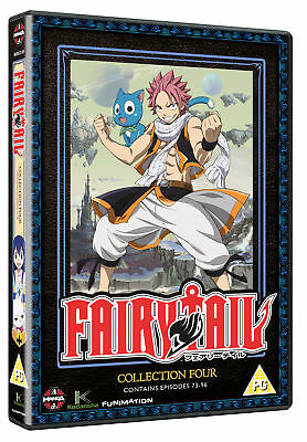 Fairy Tail Collection Four (Episodes 73-96) (DVD)