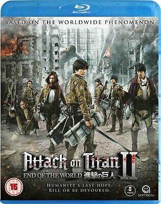 Attack on Titan: The Movie - Part 2: End of the World (Blu-ray)