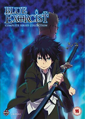 Blue Exorcist The Complete Series Collection (Episodes 1-25 & Ova) (DVD)