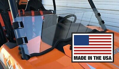 RZR Half Windshield  900, 1000, Turbo XP XP4 4 Polaris Polycarbonate UTVZILLA
