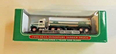 1998 Hess Miniature Tanker Truck,In box