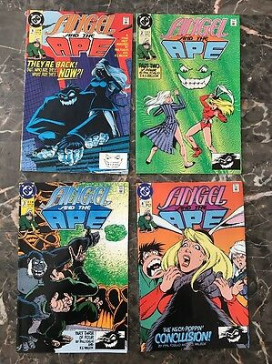 Angel and the Ape - Lot of 4! #1, 2, 3, 4 (DC 1991)