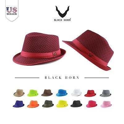 Light Weight Classic Soft Cool Summer Mesh Fedora hat