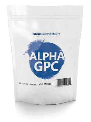 Alpha GPC 99% Pure Powder (25g/50g/100g)  *Improve Focus, Memory and Learning*