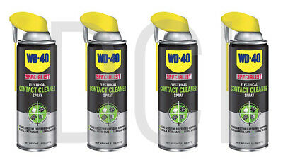 WD-40 300083 Specialist Electrical Contact Cleaner Spray 11 OZ (Pack of 1)