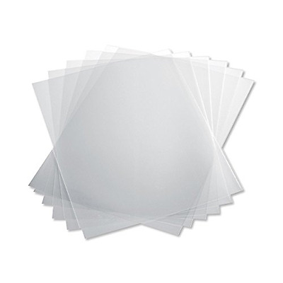 TruBind 10 Mil 8-1/2 x 11 Inches PVC Binding Covers - Pack of 100, Clear (CVR-10