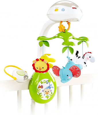 Fisher-Price Deluxe Projection Mobile, Rainforest Friends 3-in-1