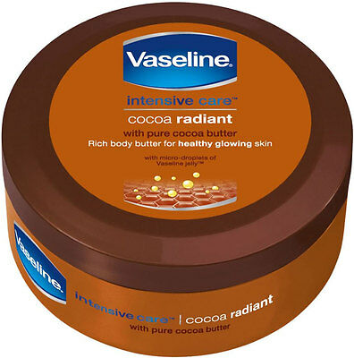 Vaseline Intensive Care Cocoa Radiant Rich Body Butter (250ml)