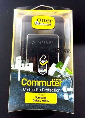 OtterBox Commuter Series Case Cover for Samsung Galaxy NOTE 7. BLACK
