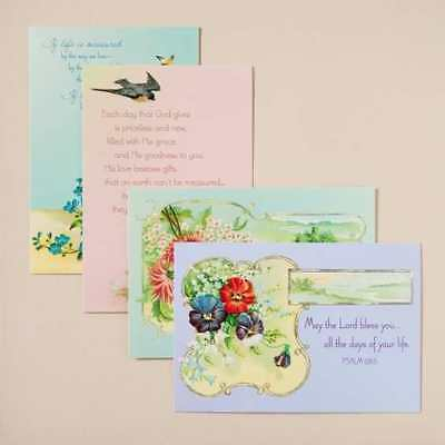 Card-Boxed-Birthday-Victorian Blessings (Box Of 12)