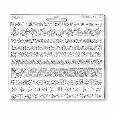 Staedtler FIMO Plastic Texture Sheets For Modelling Clay - Various Designs