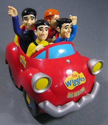 The original Wiggles Big Red Car toy talking/sing-along works battery-operated