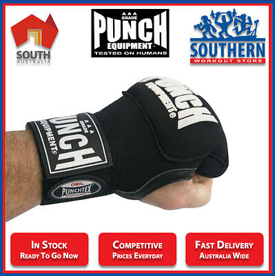 Punch Gel Quick Wraps Boxing MMA Prevent Injury Knuckle Wrist Support Training