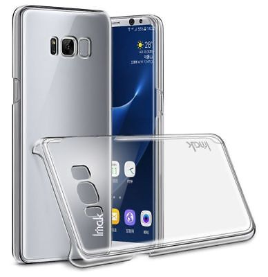 Imak Crystal Case II Ultra Thin Transparent Hard Back Cover for Samsung S8