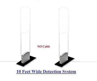 COMBO-Acrylic / 1000 Tag + EAS RF Checkpoint Compatible Security System + Tool