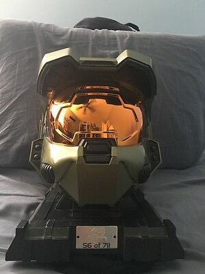 Serial#56 Halo 3 Mountain Dew Game Fuel Helmet Replica 711 Promo Limited edition