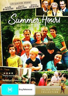 Summer Hours (DVD, 2009) Brand New, Genuine & Sealed  - Free Postage D52
