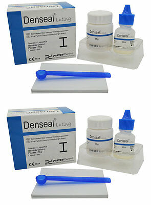 Glass Ionomer Type 1, Self Cured Dental Luting Cement, 30g + 16ml,  Light Yellow