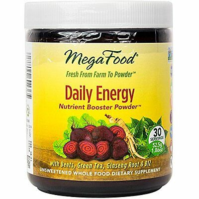 MegaFood - B12 Daily Energy Booster Powder, Promotes Sustained Energy Throughout