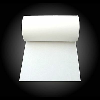 CERAMIC FIBRE PAPER - 1mm × 610mm × 1 or 2 metres - Op Temp>1000°C - FREE POST!
