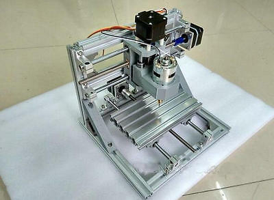 DIY Mini 3-Axis CNC Router Engraver Carving Machine for PCB PVC Milling XYZ