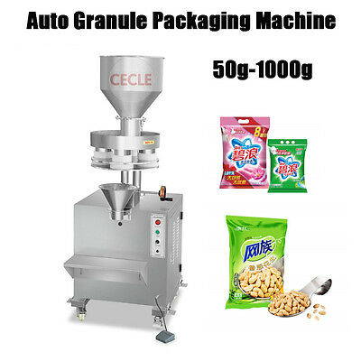 50-1000g Powder Particle Filling Machine Weigh Filler for Tea Seeds Grain