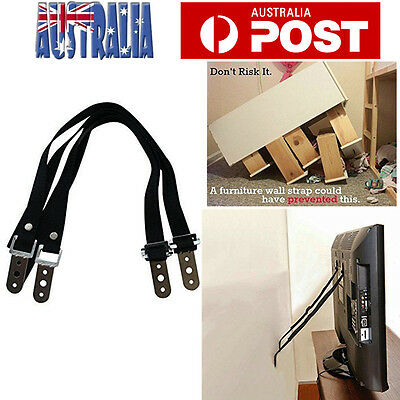 2/4pcs Anti Tip Baby Proofing Home Safety TV Strap Secure TV to Wall or Stand