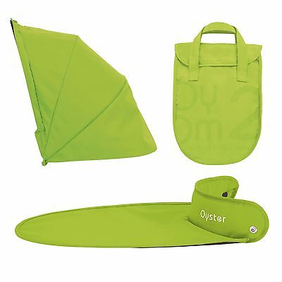 BRAND NEW BabyStyle Oyster Carrycot Colour Pack lime green