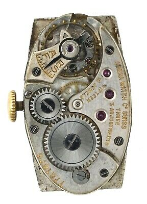Omega Cal 14.85 15 Jewel Swiss Oval Wristwatch Movement Spares Or Repairs R350