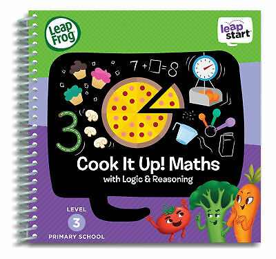 Leapfrog Leapstart Level 3, Cook It Up! Maths 30+ Page Activity Book