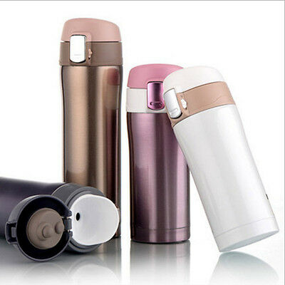 350ML Stainless Steel Travel Mug Coffee Tea Vacuum insulated Thermal Cup Bottle