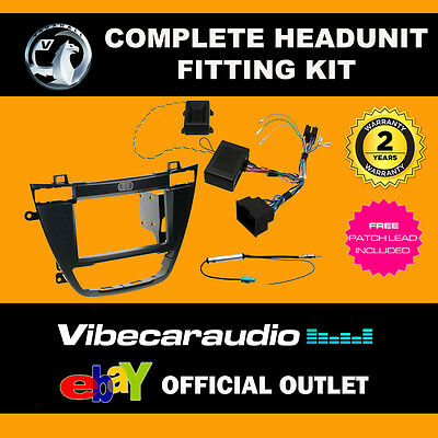 Connects2 CTKVX02 Vauxhall Insignia 2008> Double Din Stereo Fascia Fitting Kit