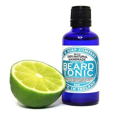 Dr K Soap - Tonico da Barba Fresh Lime 50ml OLIO DA BARBA BEARD TONIC Cura barbe