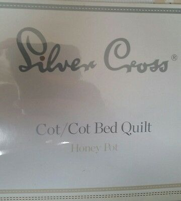 SilVER CROSS COT/COT BED QUILT HONEY POT