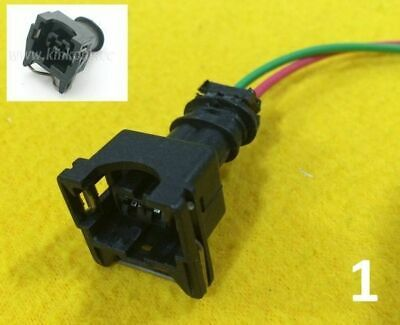 EV1 Fuel Injector plug with pigtail Bosch female quick connector