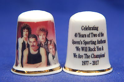 Queen The Band 40yrs of Two of The Queen's Sporting Anthems Thimble B/01