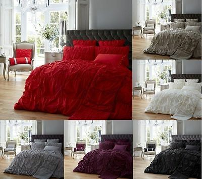 New Luxury Modern Alexandra Duvet Quilt Cover Bedding Set With Pillow Cases