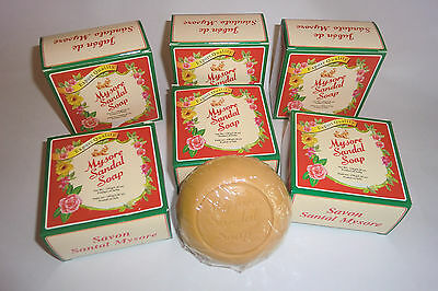 MYSORE SANDAL Premium Soap 150gm Natural Sandalwood Herbal Oil (Export Quality)