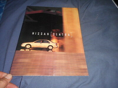 1996 Nissan Sentra Color Sales Brochure Catalog Prospekt