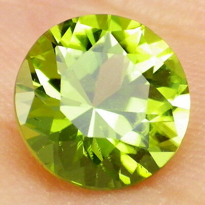PERIDOT-ARIZONA 2.13Ct CLARITY VS1-BEAUTIFUL APPLE GREEN COLOR-PERFECT CUT!