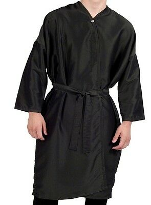 PEWTER Long Sleeve Salon & Spa Client Gowns Robes NEW BEST in Industry