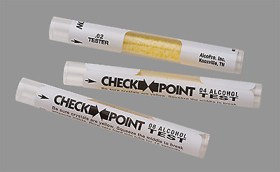 CheckPoint Disposable Breath Alcohol Test -.08 BrAC - Bag of 50 Tests ($2.10 ea)