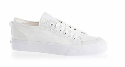 competitive price e7e49 71c28 ADIDAS G95803 NIZZA LO CLASSIC 78 WHITE Canvas   Size UK 12